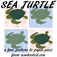 sea turtle two ways
