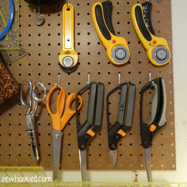 My scissors and rotary cutters.JPG