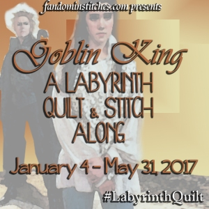 The Goblin King Labyrinth Quilt Along