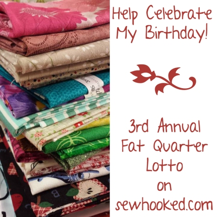 2017 Fat Quarter Lotto