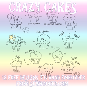 Crazy Cakes by Jennifer Ofenstein