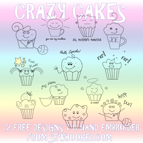 Crazy Cakes by Jennifer Ofenstein