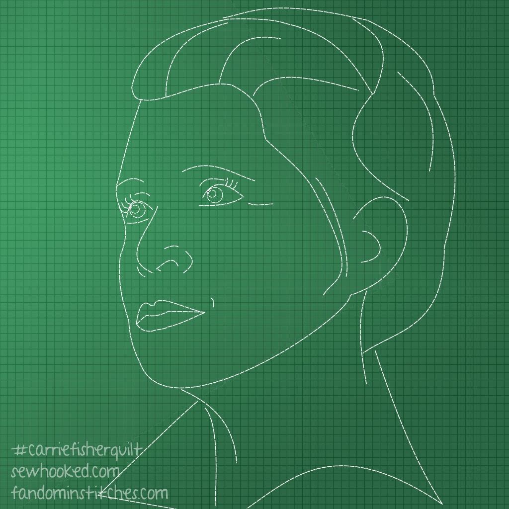 general leia dashed lines