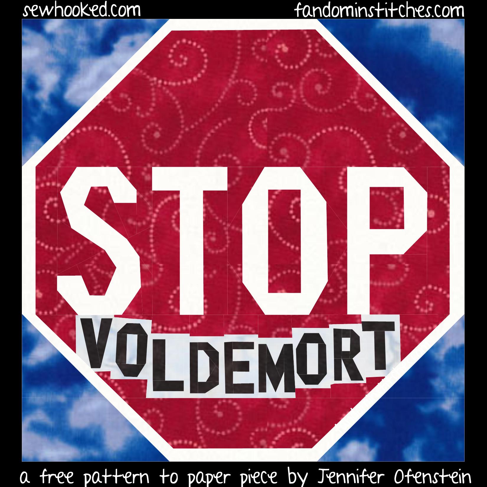 Stop Voldemort FABRIC