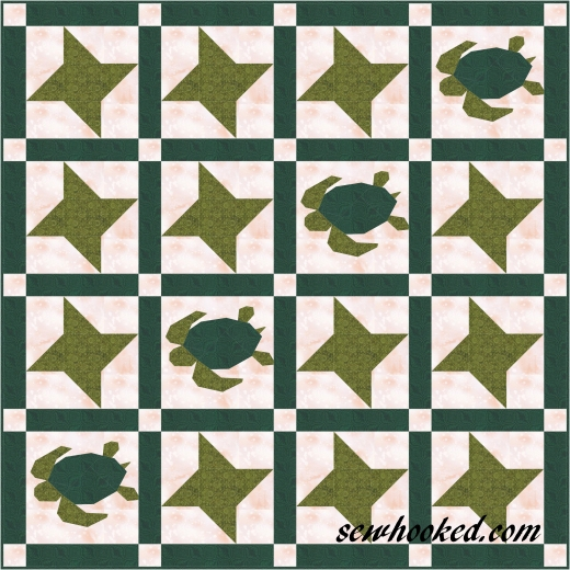 turtle quilt sample 50 x 50.JPG