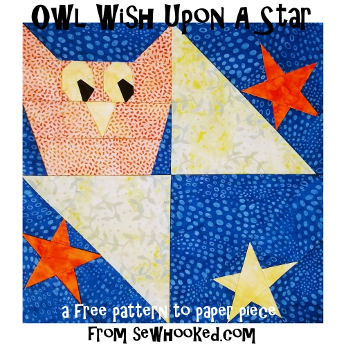 owls and stars block 2