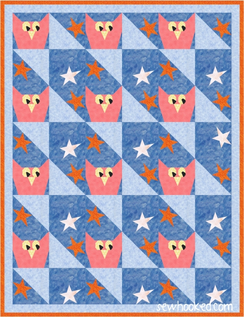 owls and stars quilt.JPG