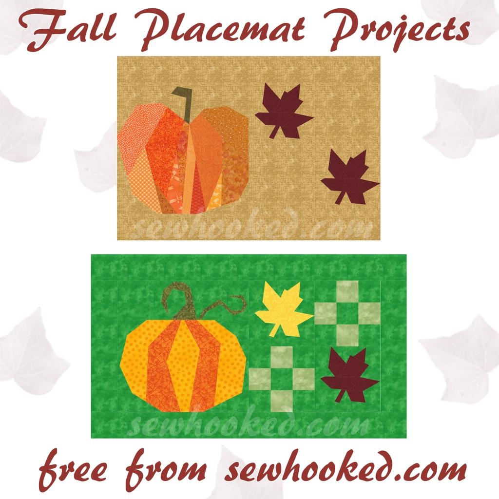 fall placemat PoD Pumpkin
