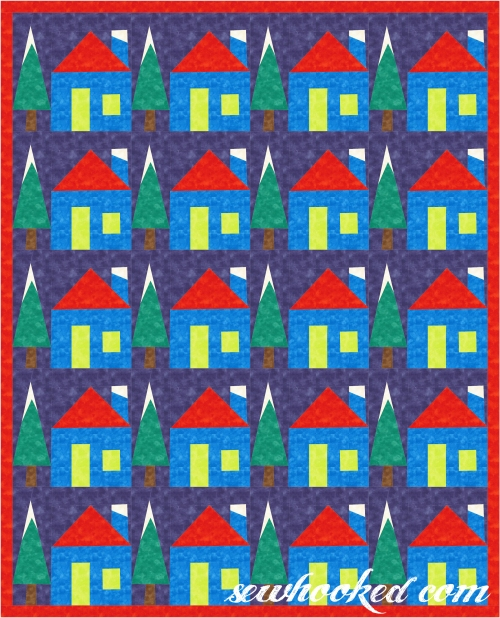 Holiday House Quilt