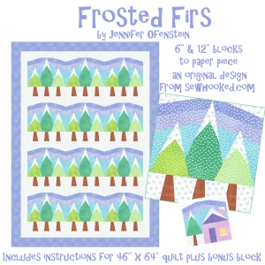 Frosted Firs Title