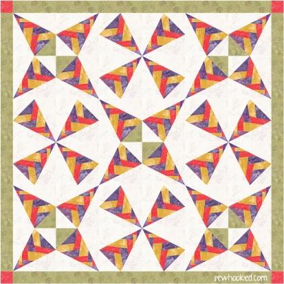 braided confetti batik