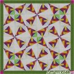 braided confetti fabric
