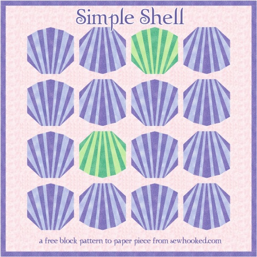 simple shell quilt
