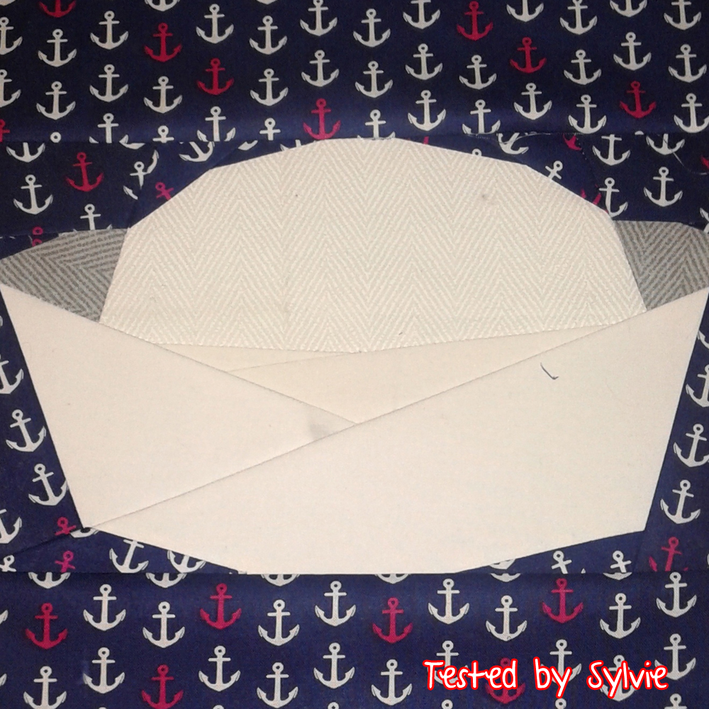 Tested Sailor Hat by Sylvie Weir