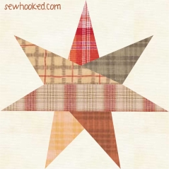 seven point star 2014 plaid