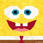 spongebob fabric