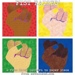 fist raised x 4 2020